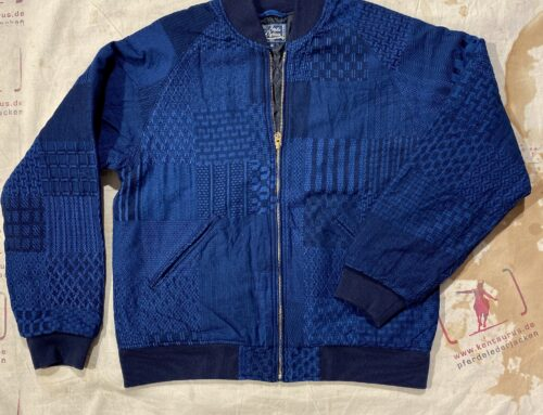 Studio D´Artisan kiriko college jacket indigo type 4500