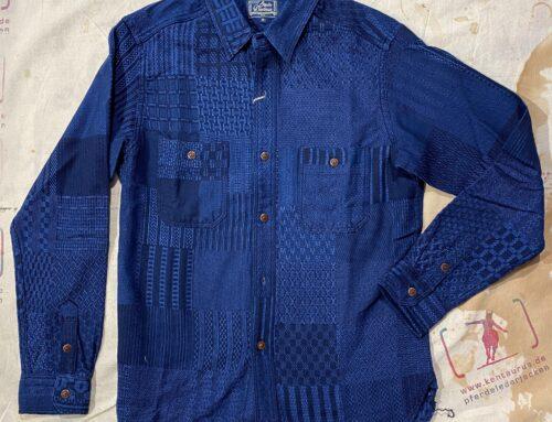 Studio D´Artisan  kiriko shirt indigo type 5646