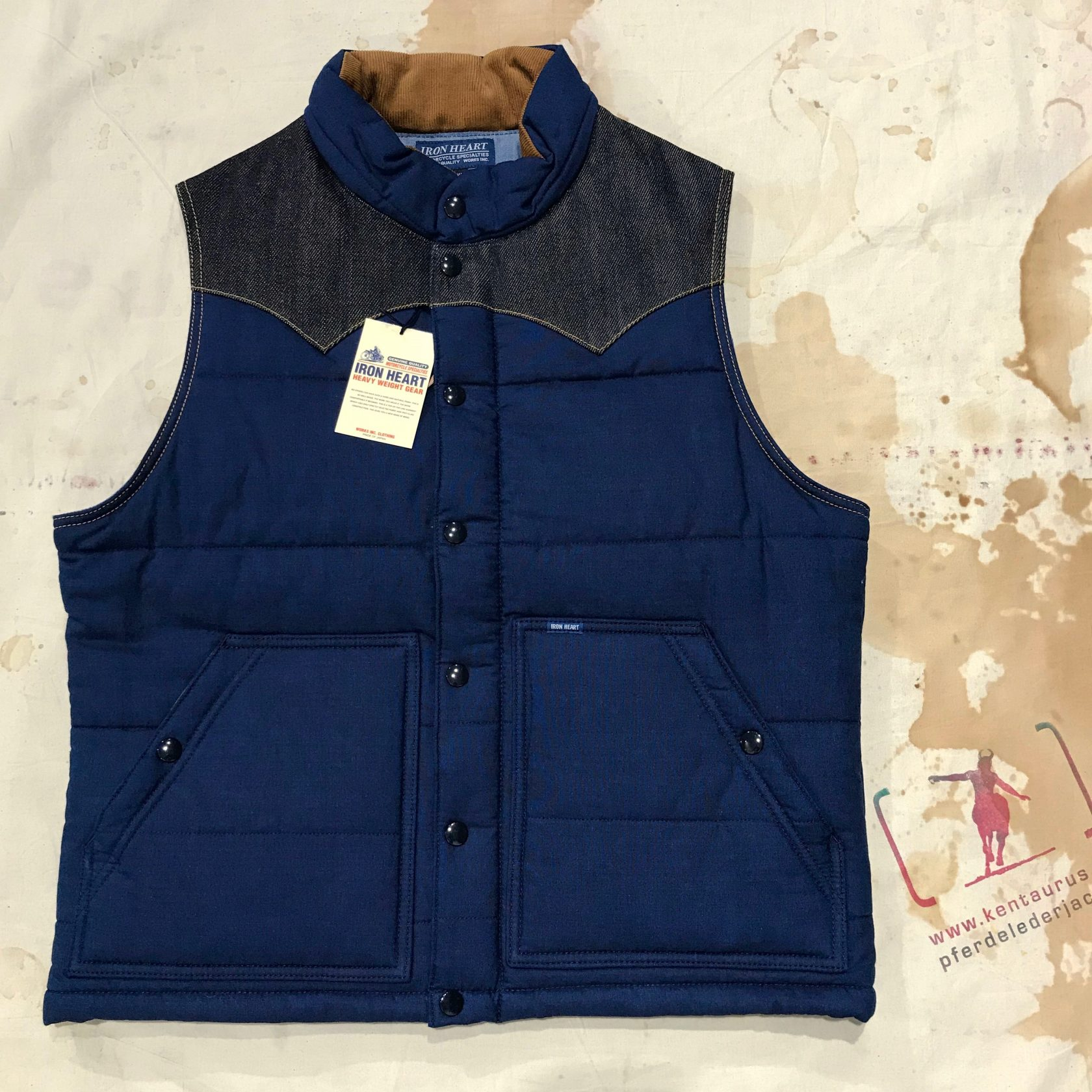Iron Heart IHV-32 padded vest