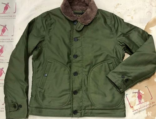 Iron Heart M29 olive and khaki N-1 Deck jacket