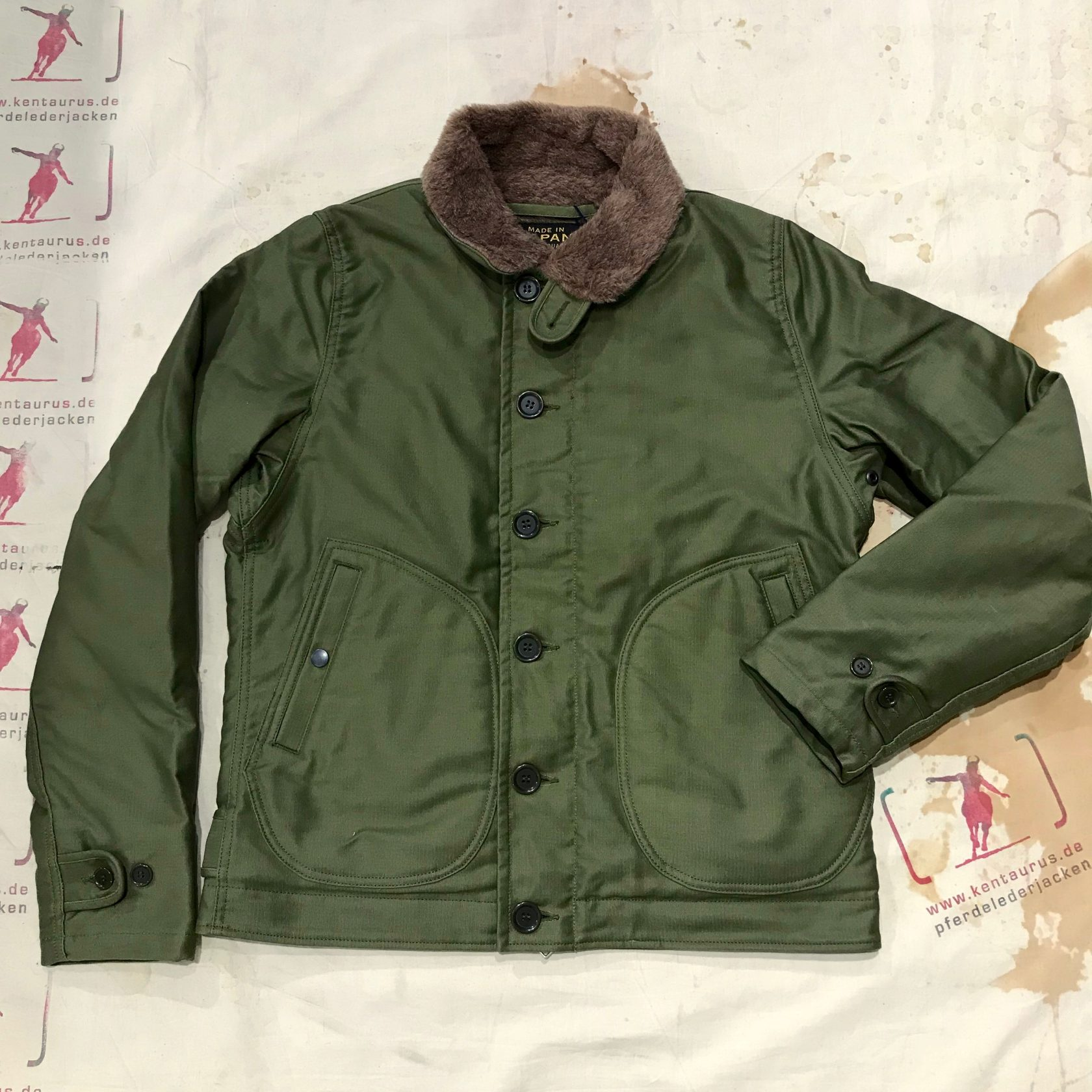 Iron Heart M29 olive and khaki N-1 Deck jacket