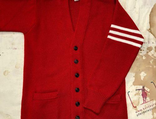 G.R.P. red cardigan