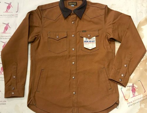 IHSH-211 brown CPO shirt