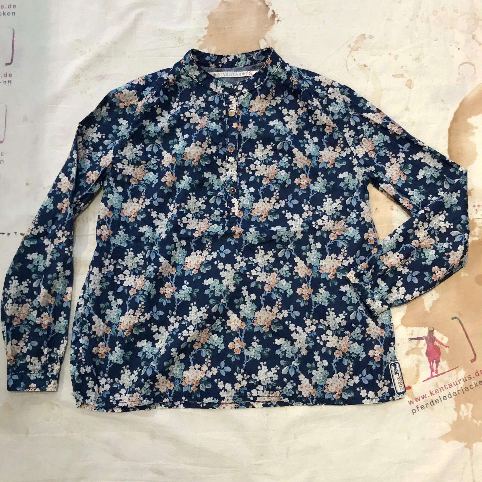 Scartilab blue cotton shirt