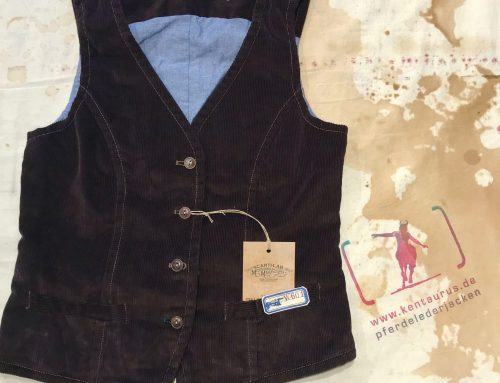 Scartilab brown cord vest