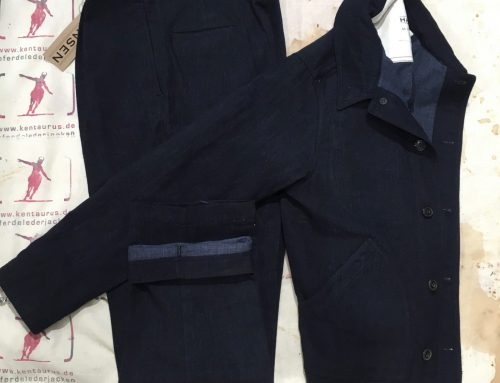 Hansen  work suit navy