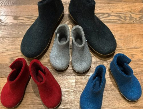 Glerups: felt boots
