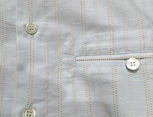 Hansen AW 16 collarless shirt