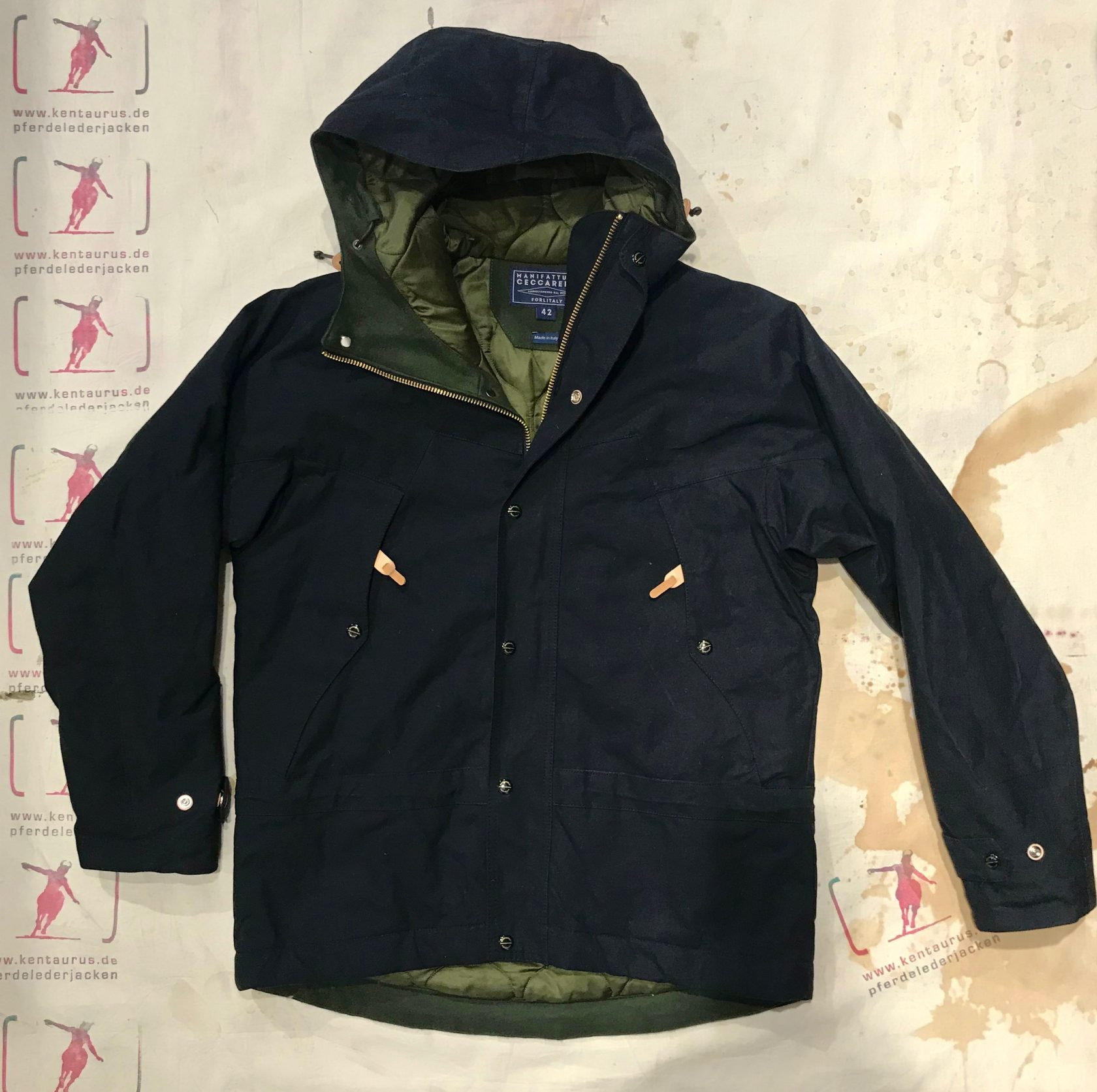 Ceccarelli mountain jacket black