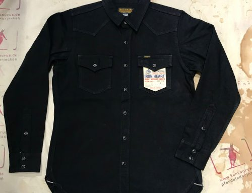 "Iron Heart IHSH- 218 ""Johnny Cash"" western shirt"
