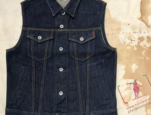 Iron Heart IHV-526SV denim vest