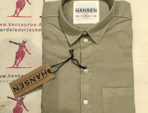 Hansen Henning shirt khaki