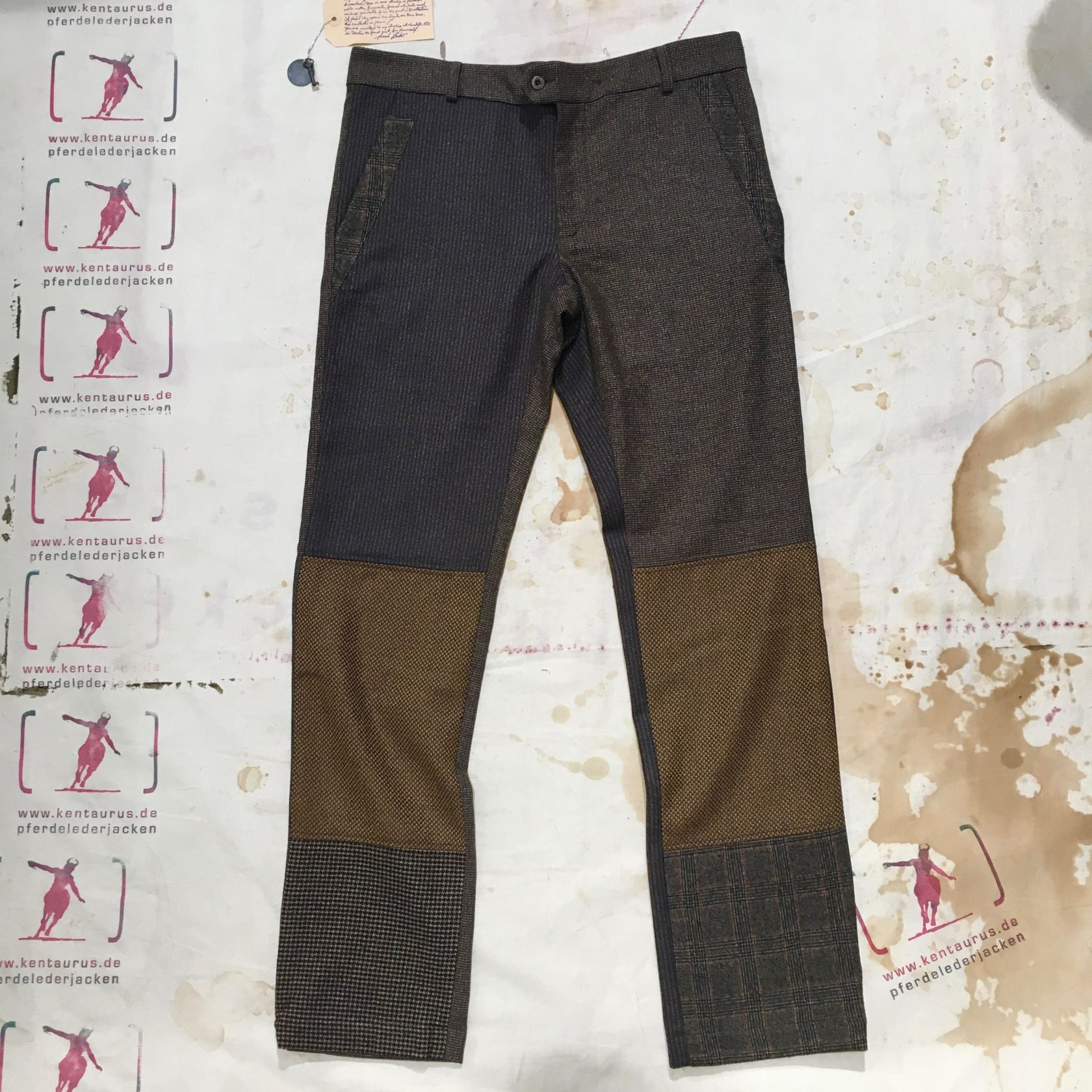 Frank Leder AW16  Wool Mix pant