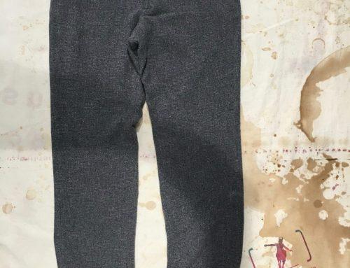 Frank Leder AW16 soft wool pant