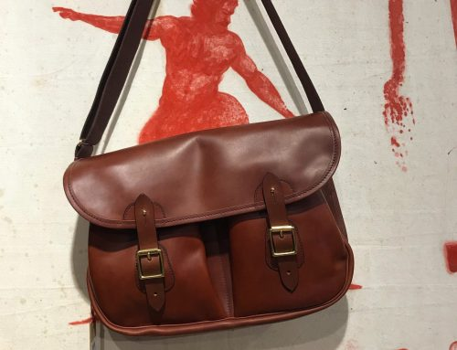 Croots leather carry all bag