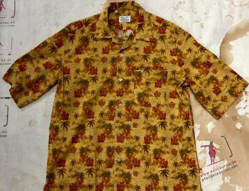 S. Piccolo Hawaii Flower Shirt R-TC/TS