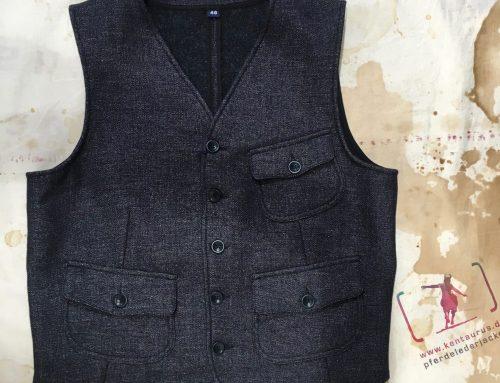 Ceccarelli wool/linen vest