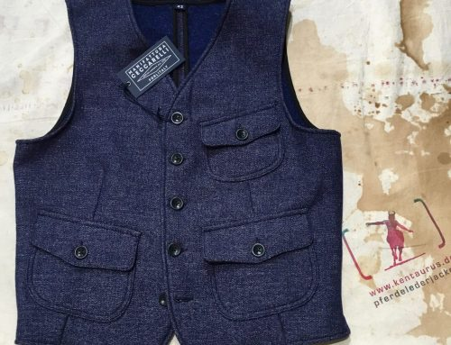 Ceccarelli wool /linen vest AW16