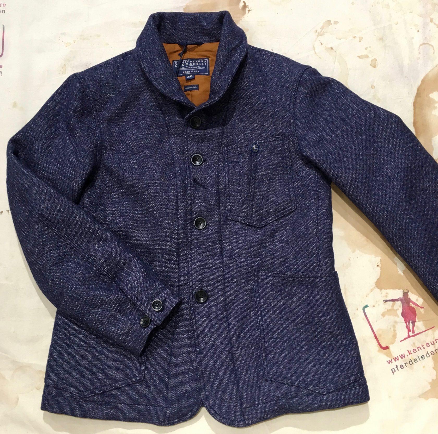 Ceccarelli AW 16 wool/linen jacket