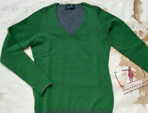 Seldom V-Pulli grün AW16