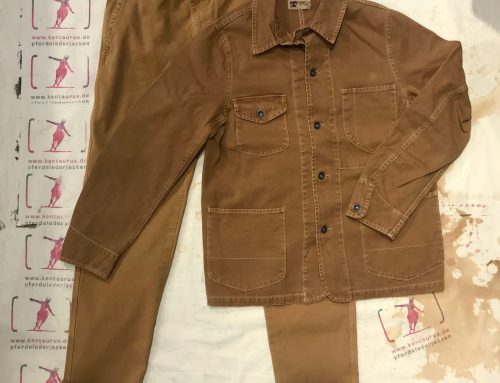 Tellason duck canvas work suit