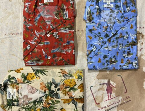 Hartford hawaii shirts 100% cotton