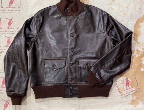 Aero Leather flight jacket type A-1