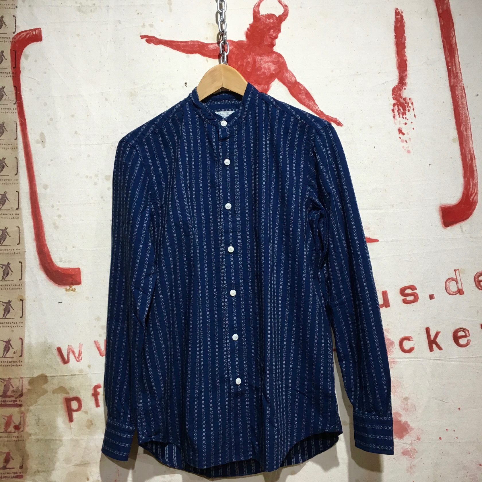 Piccolo AP/HDA striped shirt blue