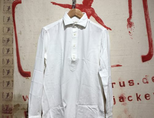 Salvatore Piccolo MK34H white shirt
