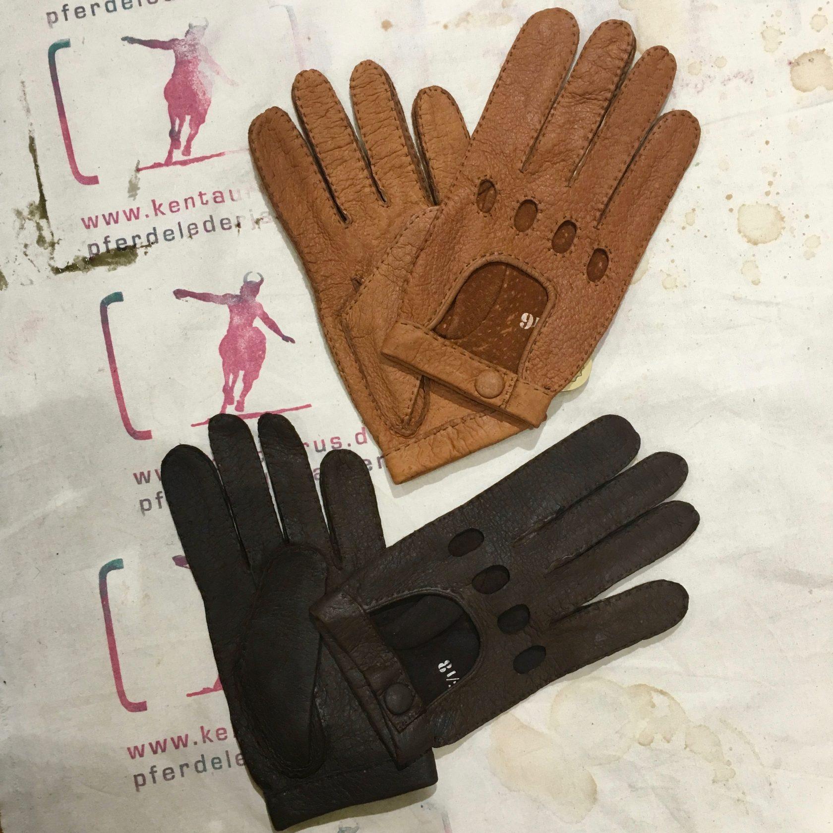 Eska Car Gloves Peccary
