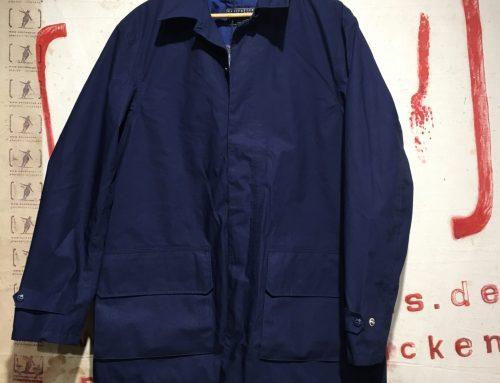 Ceccarelli eVent short coat blue