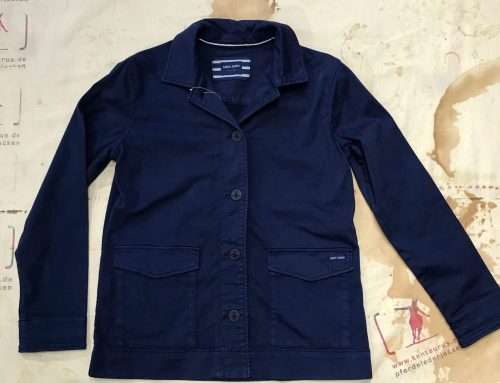 Saint james work jacket delphine marine