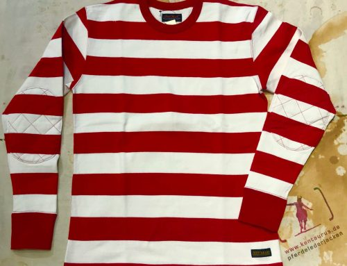 IHTB-08 red/white sweater