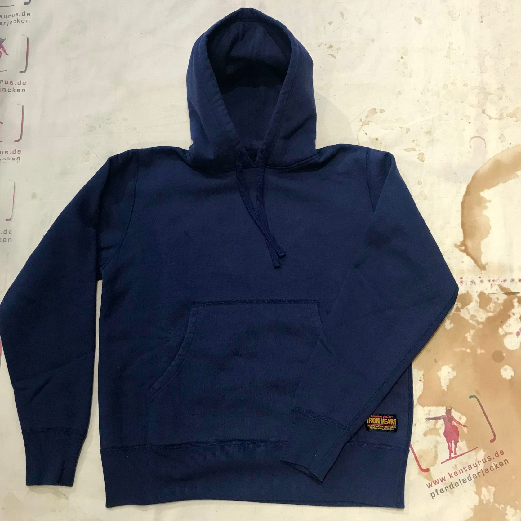 IHSW-23 hooded sweater navy