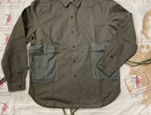 Workware m51 patch shirt green
