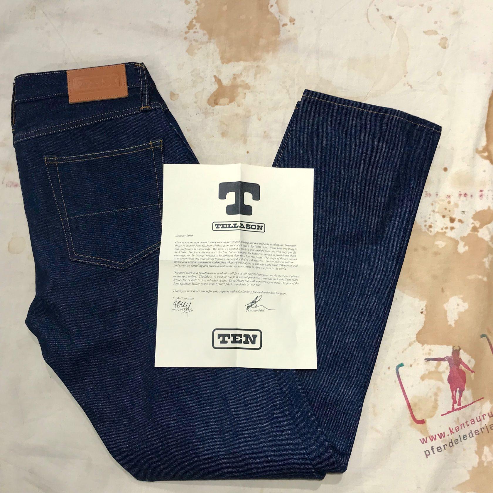Tellason : John Graham Mellor ten anniversary jeans