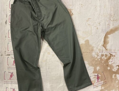 Workware safari pants wide green