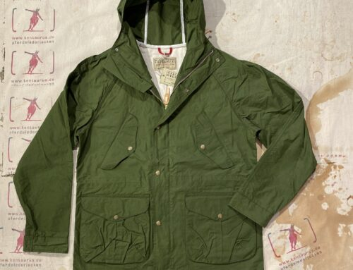 Ceccarelli  all season coat green cotton