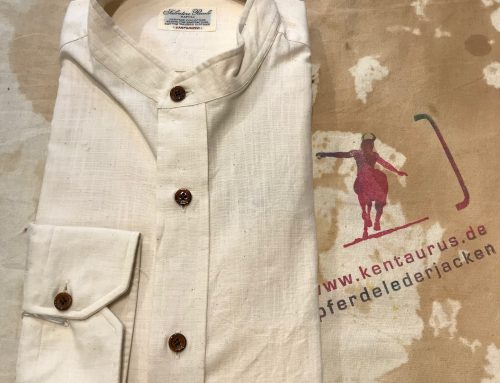 S. Piccolo nat. cotton shirt H-MK/B20
