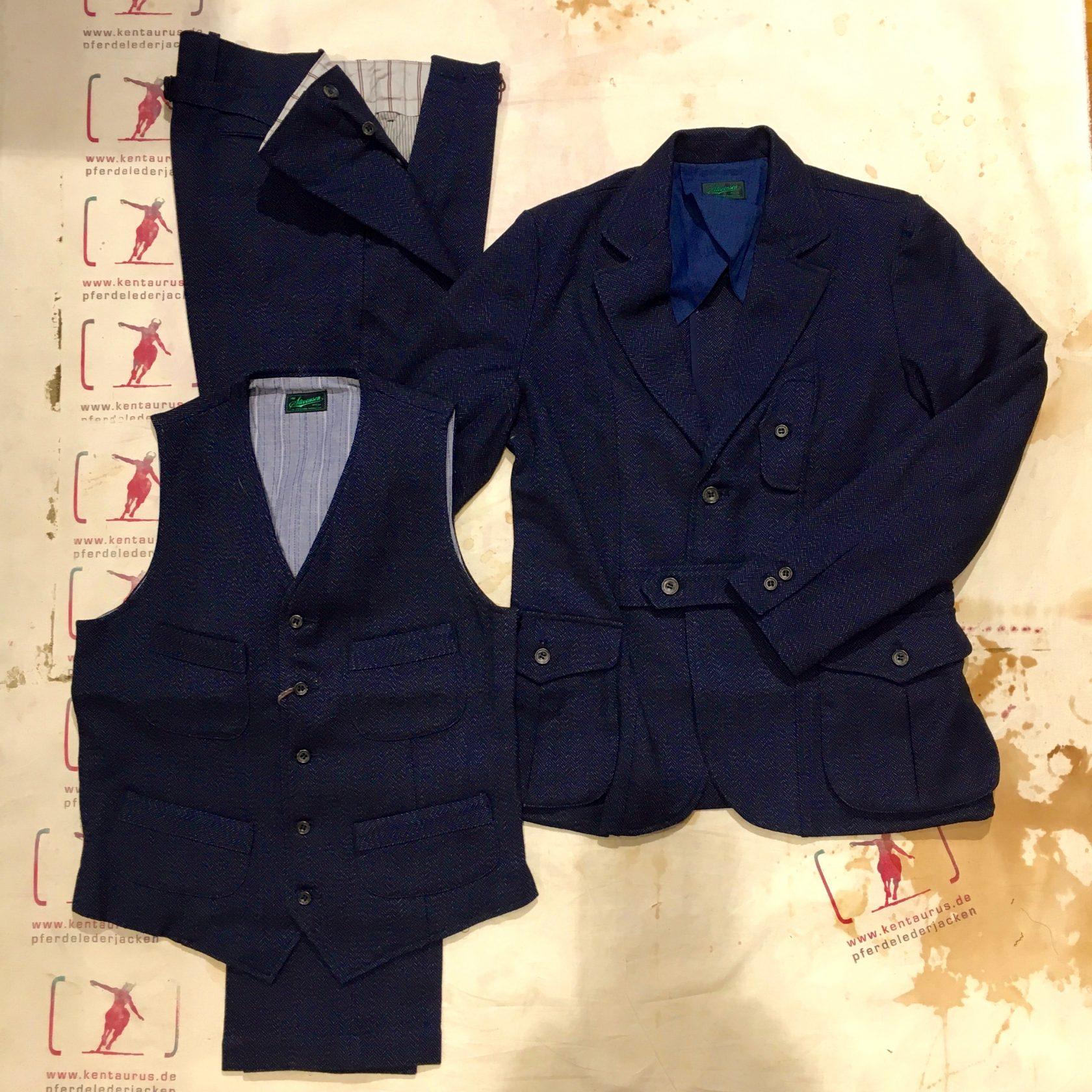 Stevenson Overall AW16 huntsman 3 piece suit