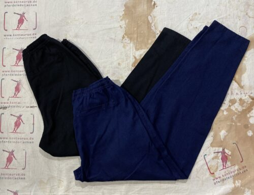 Hansen jim casual drawstring trousers indigo and black