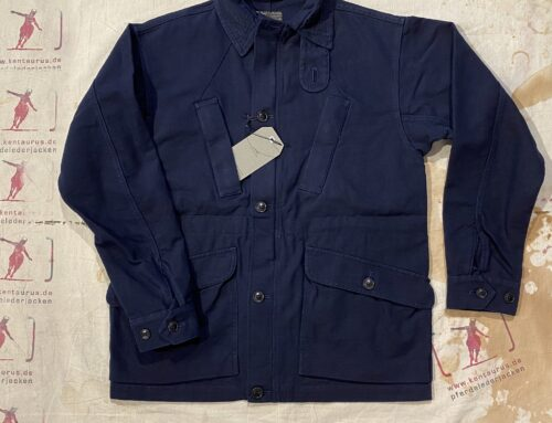 First Pat-rn carrier field jacket blue