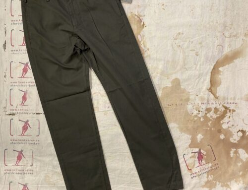 First Pat-rn yale pant tricotina military green