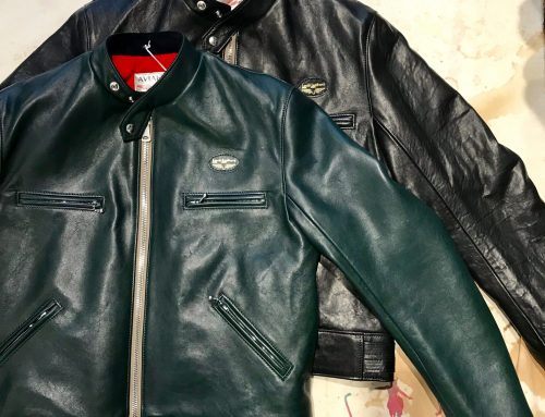 Lewis Leathers 68 sportsman sheepskin jacket