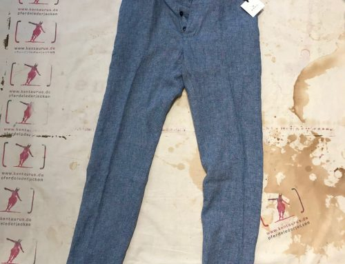 A.B.C.L. Japan coulisse pant chambray