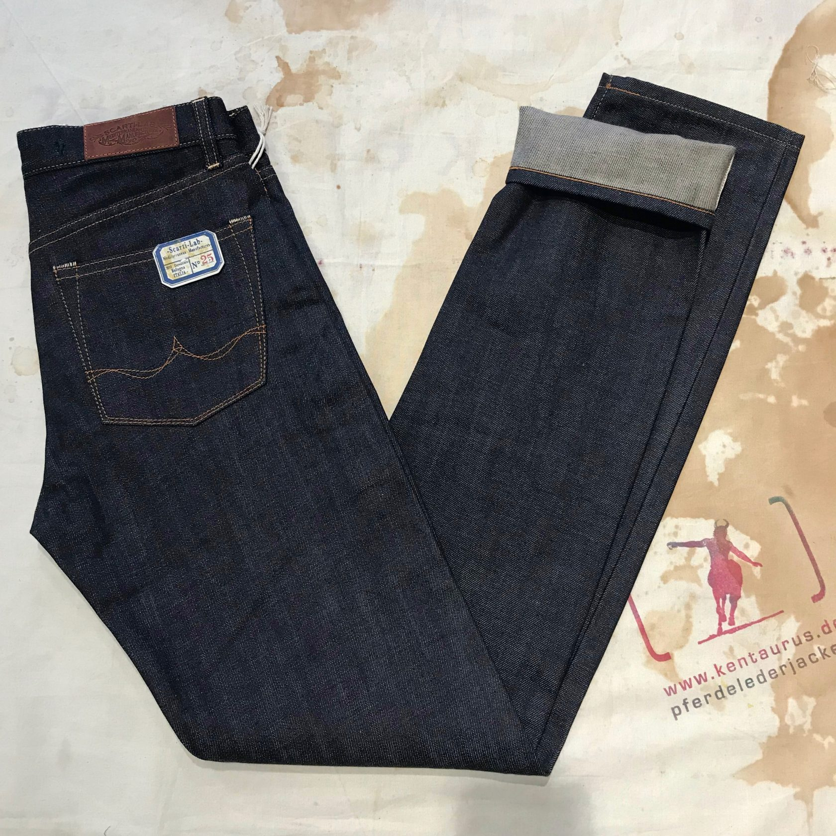 Scartilab selvedge jeans
