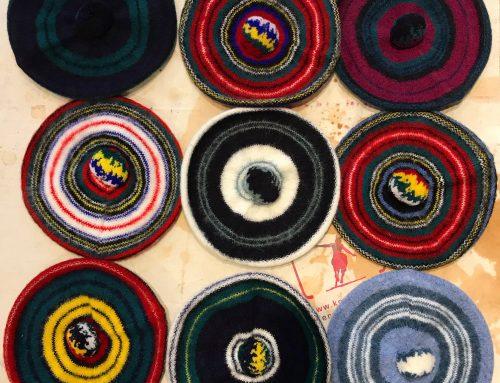 Robert Mackie of Scotland woolen tartan tams