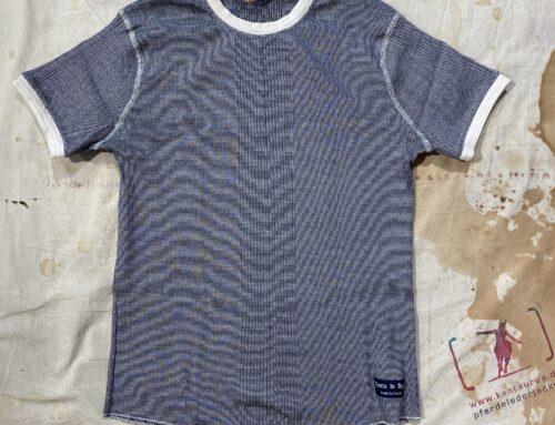Fleurs de Bagne tricot grey cotton maille richelieu