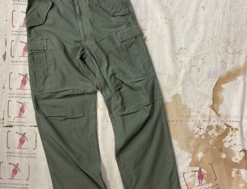 Scartilab 128SG824 Military Cargo Pant Washed Olive