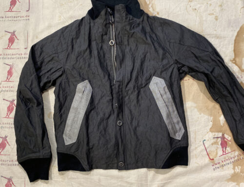MotivMfg full metal bomber jacket cotton steel